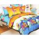 Комплект постельного белья Поплин 1.5 спальный КПБ18
