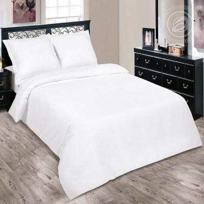 Комплект постельного белья Отбеленный Поплин КПБ44