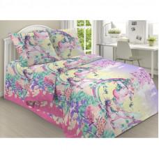 Комплект постельного белья Поплин 1.5 спальный КПБ14